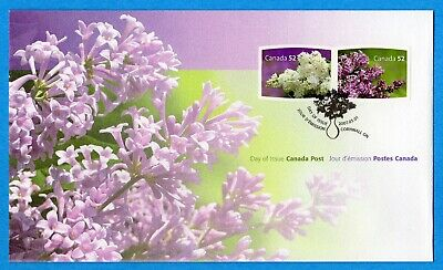 2007 Canada FDC First Day Cover #2207-8 - Lilacs