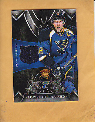 2012 13 Panini Rookie Anthology Crown Royale Lords Of The Nhl Ln Db