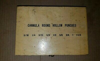 Cannula Round Hollow Leather Punches