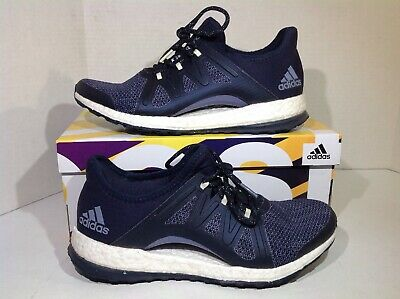 8643e954b Adidas Women s Size 8.5 PureBoost Xpose Blue Athletic Running Shoes YA-1005