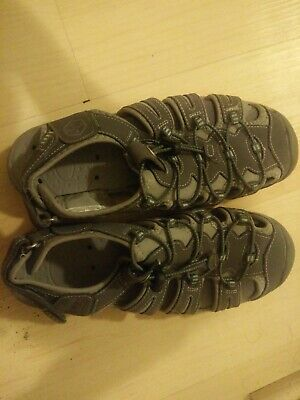 db22eb50cce9 KHOMBU Womens Gray Hiking Sport Sandals Shoes Size 7.5 All Weather Water  Proof