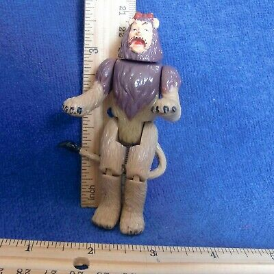 Wizard of Oz Poseable Figure COWARDLY LION GUC Vtg 1988 MGM Turner Poseable