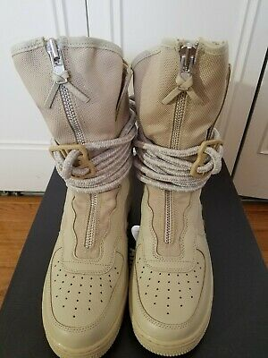 b952c3a4df3e9 Nike SF AF1 HI Boots Special Field Air Force 1 Rattan AA1128-200 Size 9