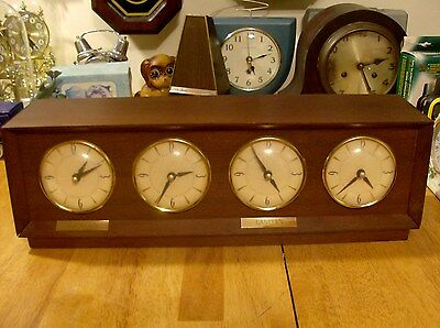 Sessions Electric Time Zone  Mantel clock Parts or Repair