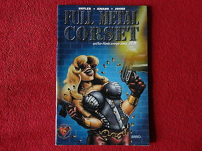 Full Metal Corset Another Blonde Avenger Comic #26 Rare Sexy Bad Girl Hot Cindy