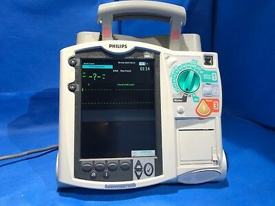 PHILIPS HEARTSTART MRX M3535A Defibrillator with ECG option only no paddles