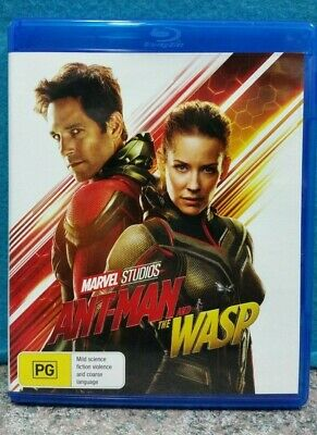 Ant-Man & The Wasp Blu-Ray Film MARVEL