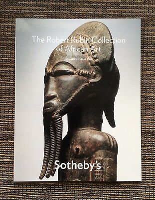 RARE 2011 Sotheby's Auction Catalog: The Robert Rubin Collection of African Art