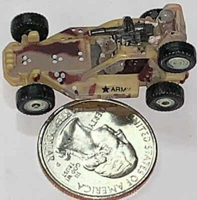 Micro Machines Military Vehicle ARMY Snow Tracker Trac 1 FAST FREE Combine SHIP