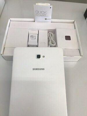 Samsung Galaxy Tab A, 16GB, Wi-Fi, 10.1in - White Tablet_SM-T580NZWAXSA