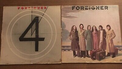 Foreigner Vinyl Lot 4 - S/T Original Classic Rock Record