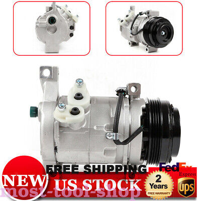 A//C Compressor Fits Cadillac Chevrolet GMC Hummer OEM 10S20F With Rear A//C 77363