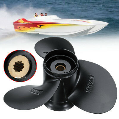 For Suzuki 9.9-15HP 58100-93743-019 9 1/4 x 11 Aluminum Boat Outboard Propeller