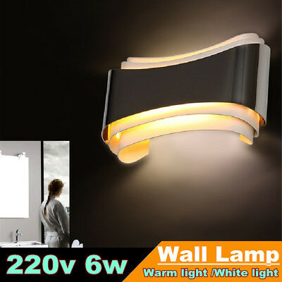 Iron LED Wall Light Up Down Lamp Sconce Lighting Indoor Porch Fixture Hotel Bar