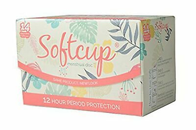 Softcup, 14 Disposable Menstrual Discs - New in Box