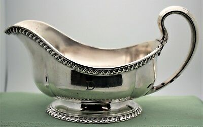Tiffany & Co 3237 Makers 70 Silver Soldered Double Gravy Boat