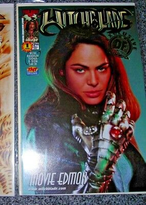 Witchblade 1 movie edition DYNAMIC FORCES VARIANT 0678 of3000 CoA AUGUST 2000 NM
