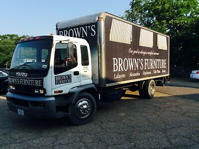 2005 Isuzu Cabover Box Truck Delivery Truck