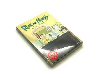 Rick & Morty: Complete Seasons 1-3 DVD Set Brand NEW & Sealed Free Shipping