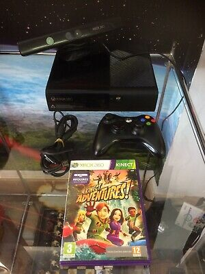Xbox 360 E Elite Console 250gb With Kinect Controller & Game Bundle