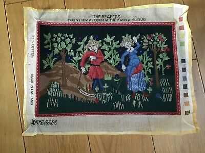EHRMAN The reapers V& A Museum COMPLETED tapestry  VGC