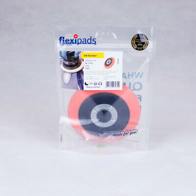 Flexipads World Class 125mm Dual Action Polisher Flexible Backing Plate