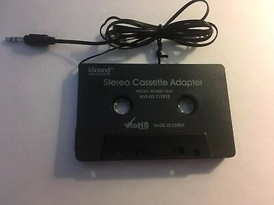 i.Sound Car Stereo Cassette Adapter 1642 WXY-03 Play Music From Your Car AUX