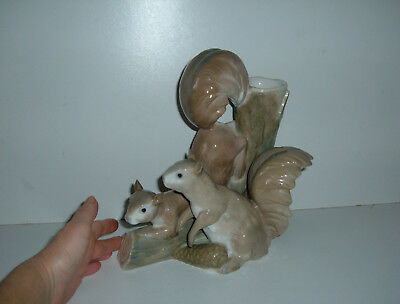 ** Vintage Squirrel Large Vase Ornament - Collection Only Please **
