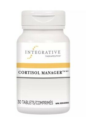 Integrative Therapeutics Cortisol Manager Stress Hormone Stabilizer 30 Tablets