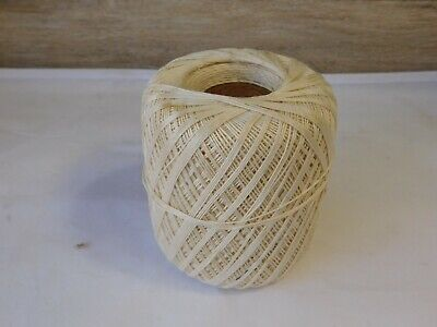 Crochet Thread Ecru 61 Size 10 J & P Coats 450 Yds