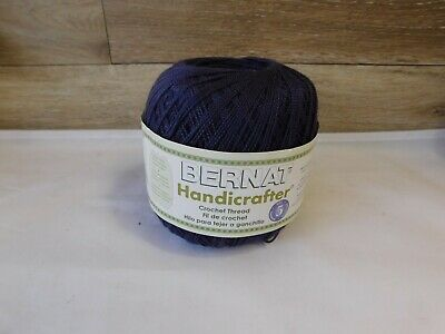 Bernat Handicrafter Crochet Thread Orchid Purple Size 5 400
