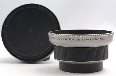 @ Ship in 24 Hrs! @ Raynox DCR-720 Wide Conversion Lens X0.72 52mm Filter Thread