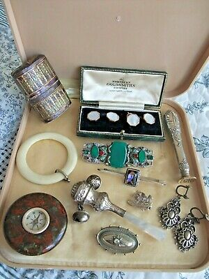VICTORIAN and later JOB LOT of MISCELLANEOUS ITEMS - Crisford & Norris Rattle