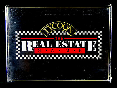 Tycoon The Real Estate Game NEW Still Sealed 1986 Family Game Ram Innovations