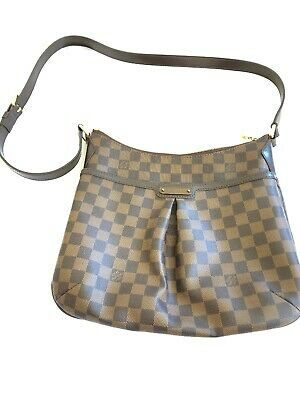 094ecd3c1e7c Authentic Louis Vuitton Damier Ebene Bloomsbury PM Shoulder Crossbody Bag