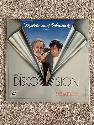 Melvin And Howard Discovision Laserdisc