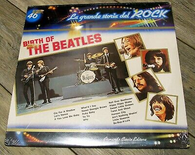 THE BEATLES FACTORY Birth of The Beatles Italy SEALED NEW LP