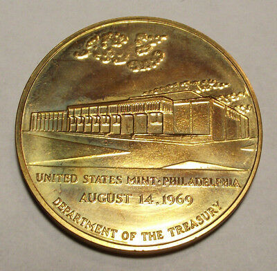 1969 United States Philadelphia Mint (Lot Jc115) Dept. Of The Treasury