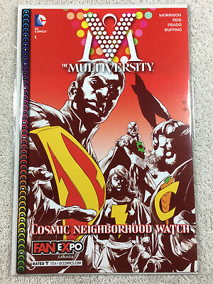 The Multiversity #1 Variant Cover Fan Expo Canada Exclusive New DC Comics 2014