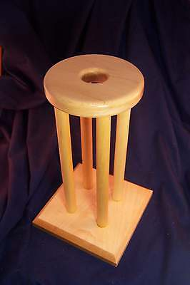 "KUMIHIMO MARUDAI for JEWELRY MAKING 5"" DIAMETER BY 12"" HIGH  -  HARD MAPLE"