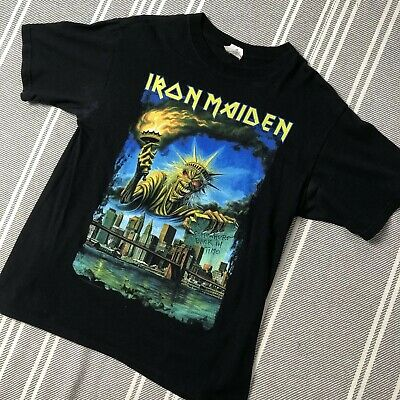 Iron Maiden 2008 Somewhere Back In Time Tour Dated NY Event T-Shirt
