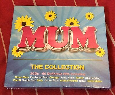 Various Artists - Mum (The Collection, 2013) BRAND NEW FACTORY SEALED 3x CD