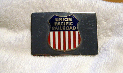 Union Pacific Railroad Metal Belt Buckle Vintage