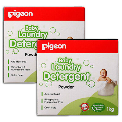 Pigeon 2kg Laundry Detergent Powder for Sensitive Skin Baby/Infant/Kids Clothes