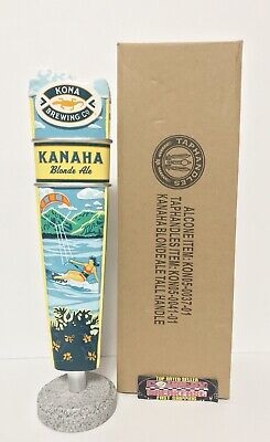 """Kona Brewing Kanaha Blonde Ale Beer Tap Handle 11.75"""" Tall - Brand New In Box!"""