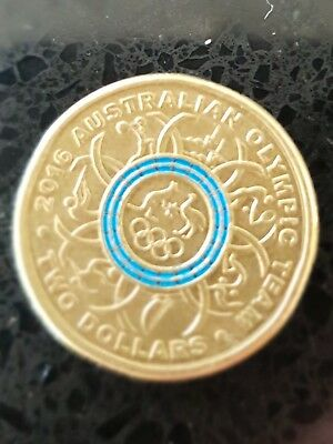 Special Collectable Rio Olympic Blue $2 - Rare  Australian coins