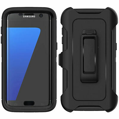 For Samsung Galaxy S7 Heavy Duty Case w(Belt Clip Fits Otterbox DEFENDER SERIES)