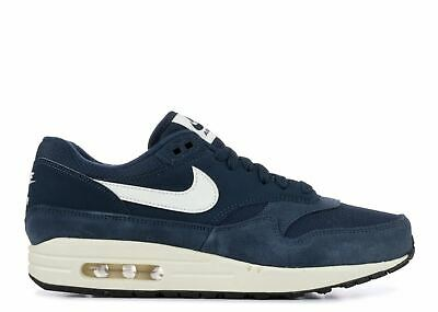 buy online 70be2 3524a Nike Mens Air Max 1 Armory Navy Trainers AH8145 401