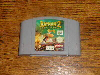 Rayman 2 The Great Escape Nintendo 64 N64 PAL UK Game Cartridge Only