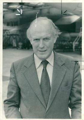 Watts Roy,Chairman Of The Thames Water. - Vintage photo